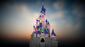 Repro - Disneyland Paris Castle Minecraft Map & Project