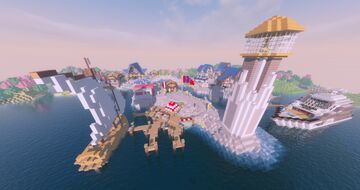Maritime Port City Minecraft Map & Project
