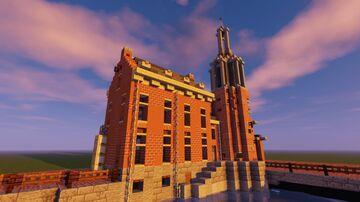 Munttoren Amsterdam (1:1) Minecraft Map & Project