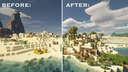 Desert village transformation Minecraft Map & Project