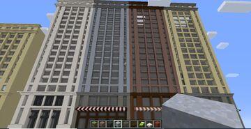 Guizy Fortaleza Avenue - Buildings Minecraft Map & Project
