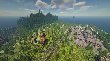 West Elizabeth Minecraft Map & Project