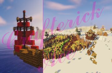Norwegian Jaegt and Village improvement Minecraft Map & Project