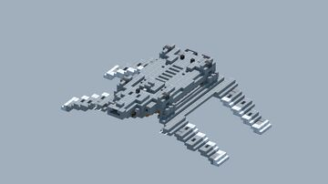 StarWars Zeta class cargo shuttle [With Download] Minecraft Map & Project