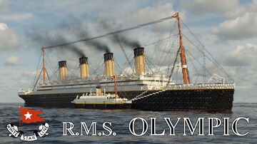 RMS Olympic (1911) Full Interior & With Music - Only 1.12.2 Minecraft Map & Project