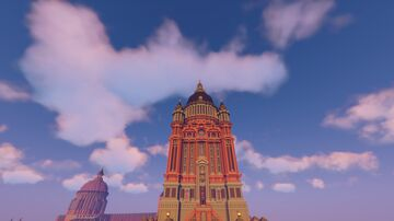 Grand Council Tower Minecraft Map & Project