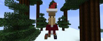Santa Claus Minecraft Map & Project
