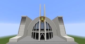 Hall of Justice V2   DC Minecraft Map & Project