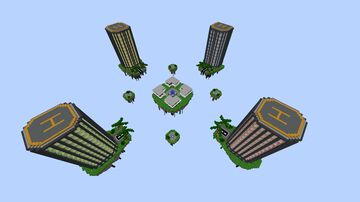 BedWars Map - CITY Minecraft Map & Project