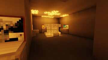 fallout 1 vault/shady sands recreation Minecraft Map & Project