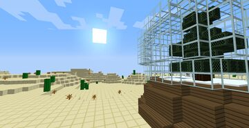 Giant Snow Globe Minecraft Map & Project