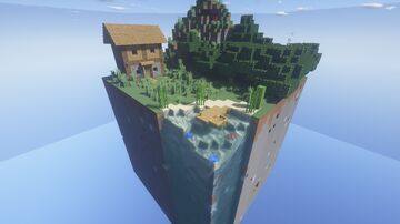 Cube SkyBlock Minecraft Map & Project
