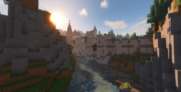Grenoble, France 1586 Minecraft Map & Project