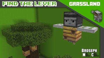 Find The Lever - Grassland Minecraft Map & Project