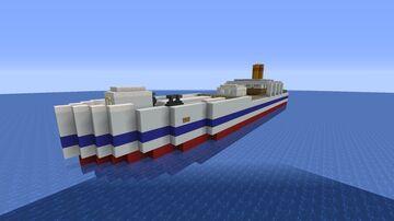 MS Aquatic (Tender) Minecraft Map & Project