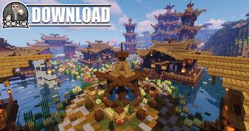 Odayakana - Oriental Village + Download 1.16.2 Minecraft Map & Project