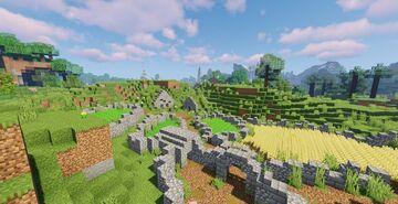 Dwarven Farm Minecraft Map & Project