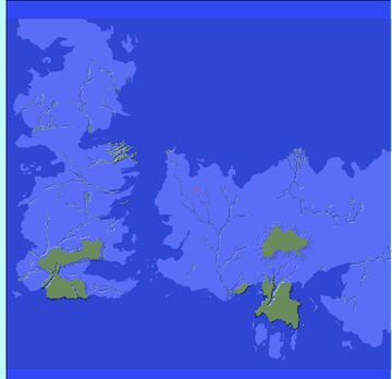 Game Of Thrones Map Template/Terrain Minecraft Map & Project
