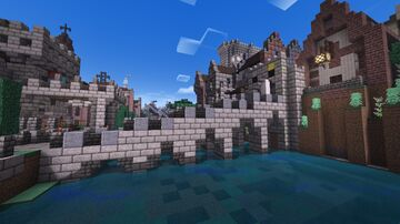 The district of Isola Imperiale Minecraft Map & Project