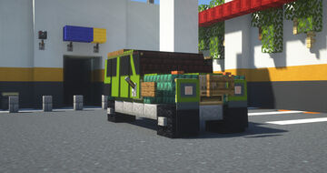 Green SUV Minecraft Map & Project