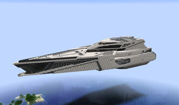 Minecraft 890 Jump from Star citizen - Full Interior Minecraft Map & Project