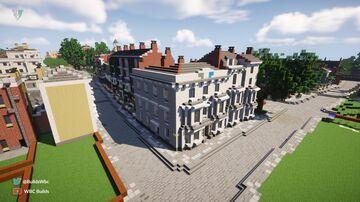 The Avenue Hotel, Walhampton Minecraft Map & Project