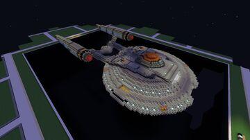 Enterprise NX-01 Minecraft Map & Project