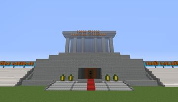 Uncle Ho's mausoleum (1.15.2) Minecraft Map & Project
