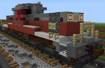 [1⅔:1] Japanese National Railways/JR Freight Class DD51 Diesel Locomotive Minecraft Map & Project