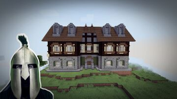 I'm building a medieval half-timbered house - building is our craft Ahu! ... Minecraft Map & Project
