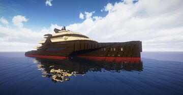 Superyacht Dee   Capitol Minecraft Map & Project