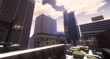 Mirror's edge (in MANAZAKA's city map) Minecraft Map & Project