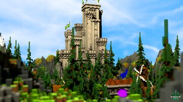 ⭐ EXCLUSIVE ⭐ Emorsimo Spawn - AliensBuilds ⛰️ Minecraft Map & Project