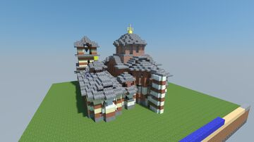 Chora Monestary Constantinople Minecraft Map & Project