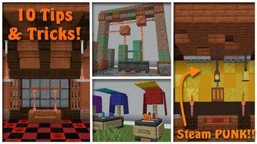 Ten 1.17 Build Hacks!! Minecraft Map & Project