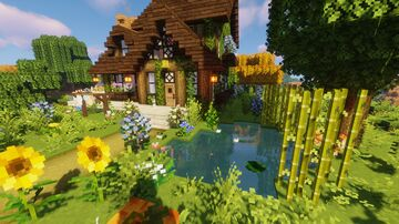 Cute cottage Minecraft Map & Project