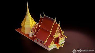 Wat Phra Kaew Chiang Rai วัดพระแก้ว เชียงราย Minecraft 1.12.2 (Thai temple) Minecraft Map & Project