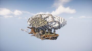 """Airship """"Margaery"""" Minecraft Map & Project"""