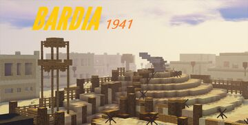Battle of Bardia 1941 Minecraft Map & Project