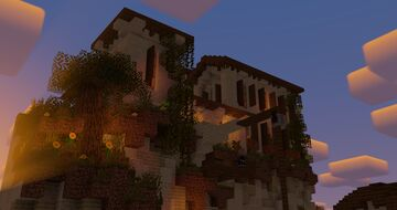 Summer | evening in Italy, a diorama | Ang333's Building Event Minecraft Map & Project