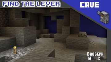 Find The Lever - Cave Minecraft Map & Project