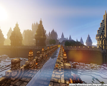 Minecrafteate Creations: Kingdom of Noriland, Castle-Palace in Minecraft. Minecraft Map & Project