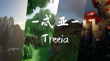 8k-Terrain-Treeia Minecraft Map & Project