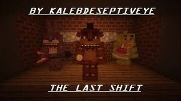 THE LAST SHIFT Minecraft Map & Project