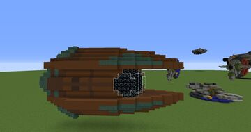 Count Dooku's ship | Minecraft 1.12.2 Minecraft Map & Project