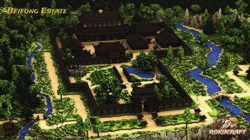 The Beifong Estate - Toph's Home | Rokucraft Minecraft Map & Project