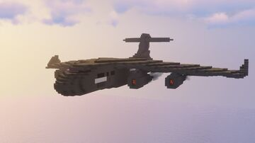 RAF C17 BRIZE NORTON (CARGO PLANE) Minecraft Map & Project