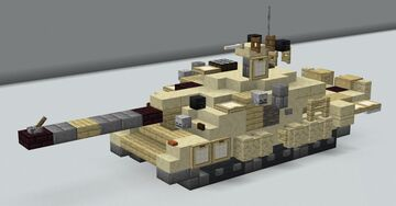 Challenger 2 MBT(1.5:1 scale) Minecraft Map & Project