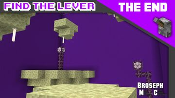Find The Lever - The End Minecraft Map & Project