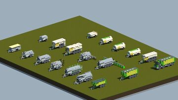 Joskin Farm equipment pack [With Download] Minecraft Map & Project